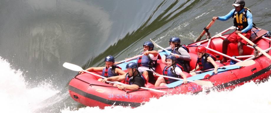 Zambezi River White Water Rafting