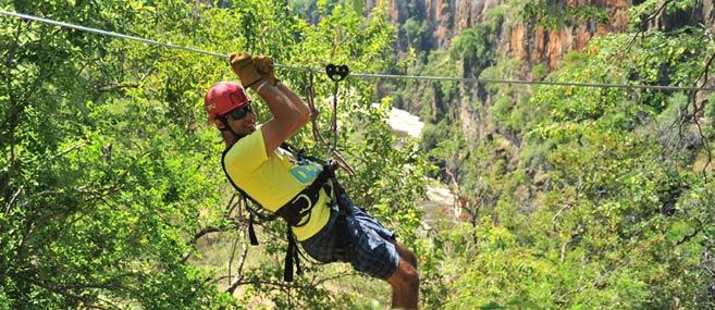 Victoria Falls Canopy Tours