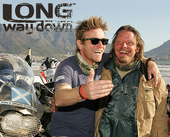 Ewan McGregor and Charlie Boorman