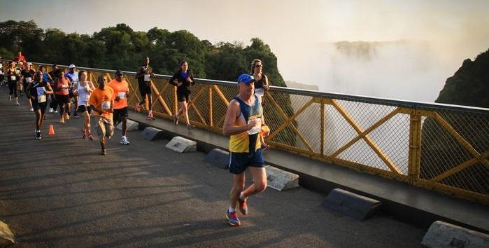 Marathon in Victoria Falls