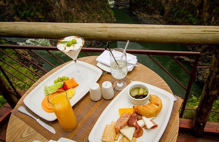 victoria falls restaurant