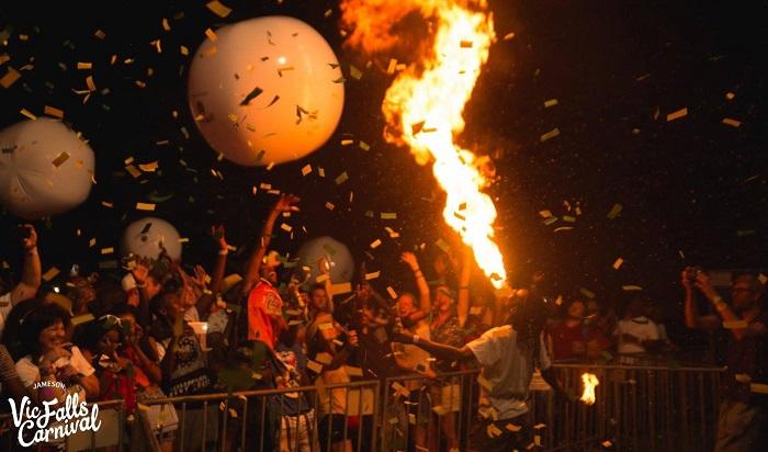 Victoria Falls New Year