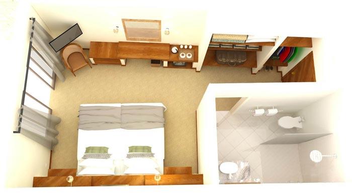 Ilala Lodge Standard Room Upgrade