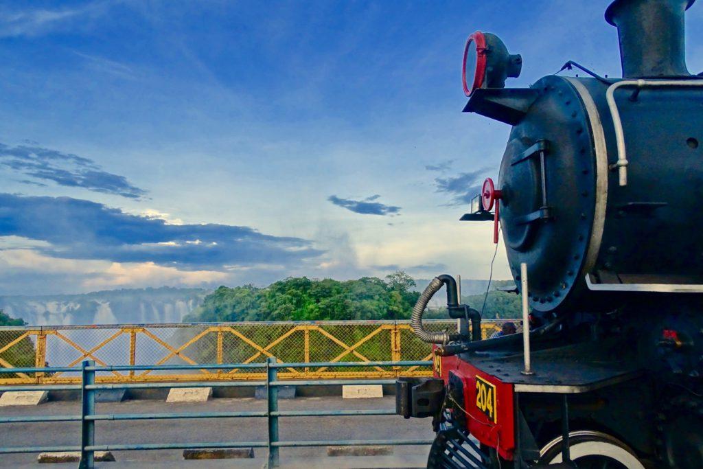 Victoria Falls Steam Train