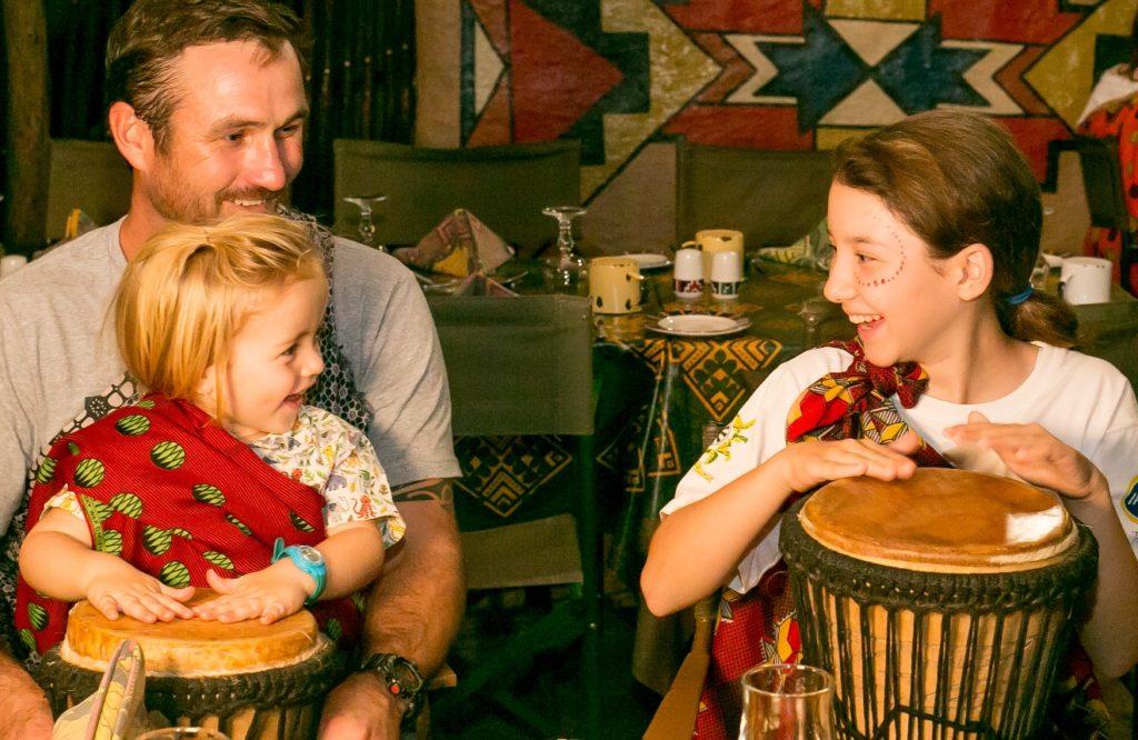 Boma drumming kids