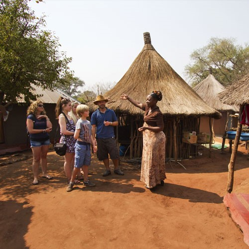 Victoria Falls experiences village tour
