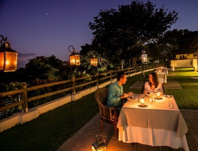 Dinner at Ilala Lodge Hotel