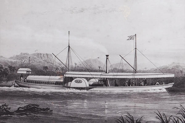 Ra-Ikane RIver Boat History