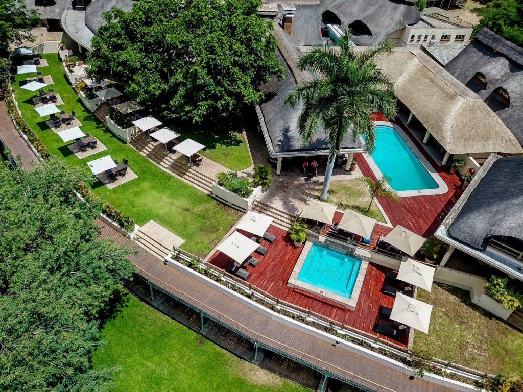 Ilala Lodge Aerial