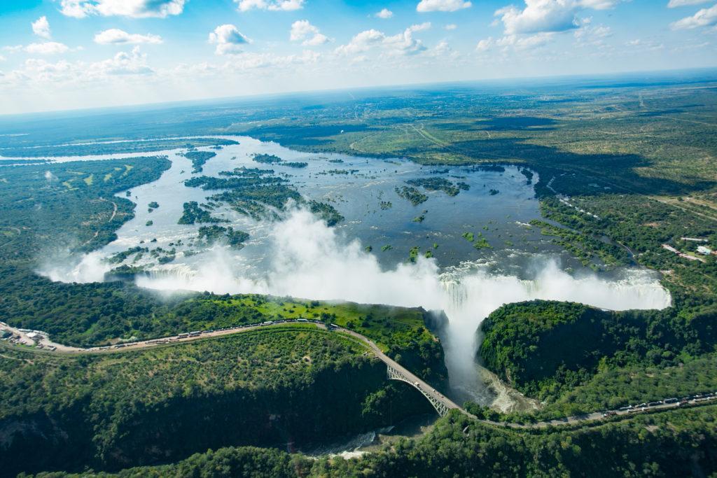 Aerial View, Victoria Falls