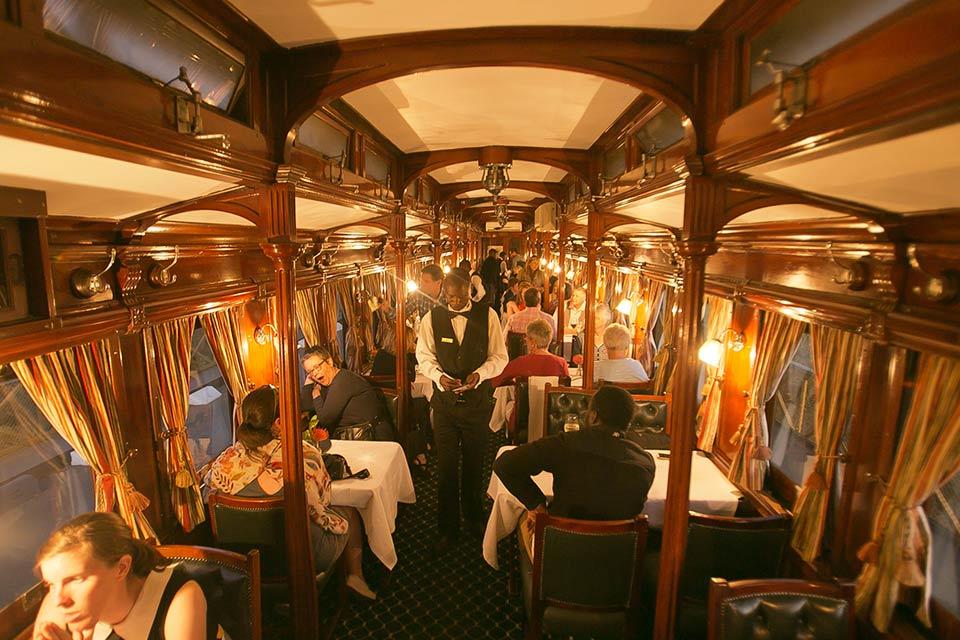 Dinner Aboard Stream Train Victoria Falls
