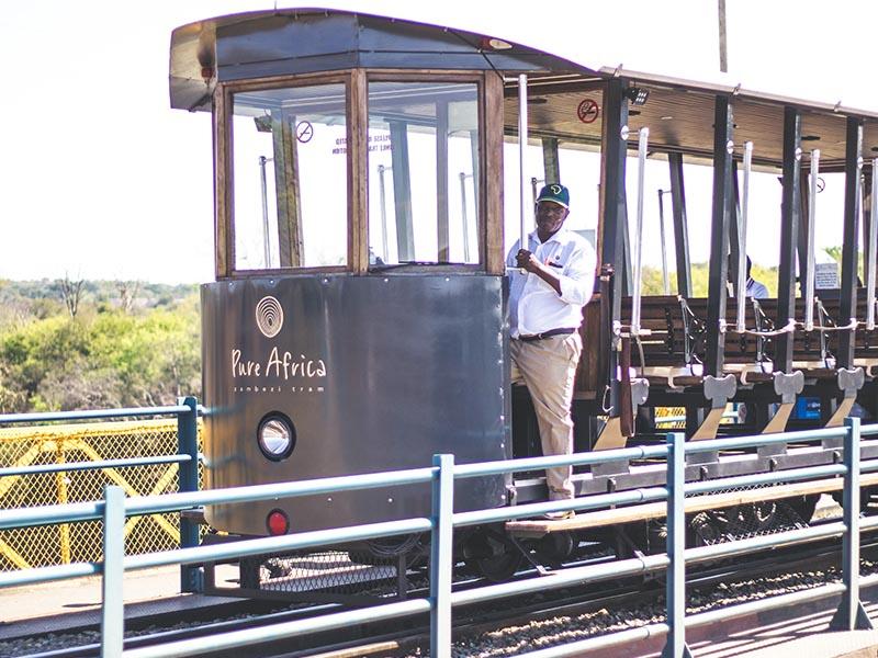 Tram Tour Victoria Falls